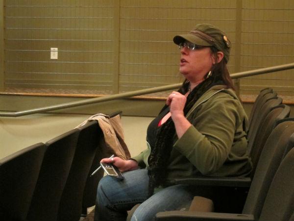 Director Cheryl Snodgrass.