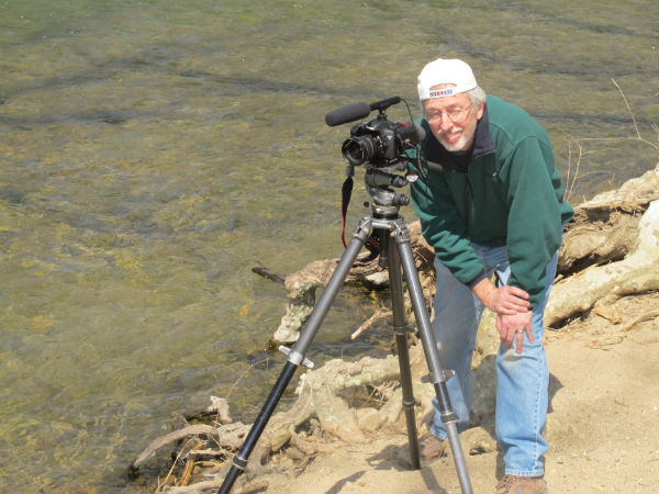 Hank Ebert, our director and videographer.