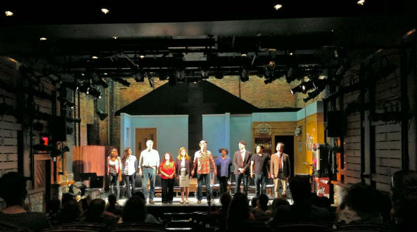 "The cast of ""The Ballad of Alejandro Lopez"" takes a curtain call."