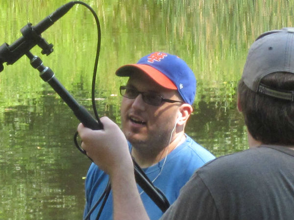 Anthony Ponzio, our fearless director and cinematographer