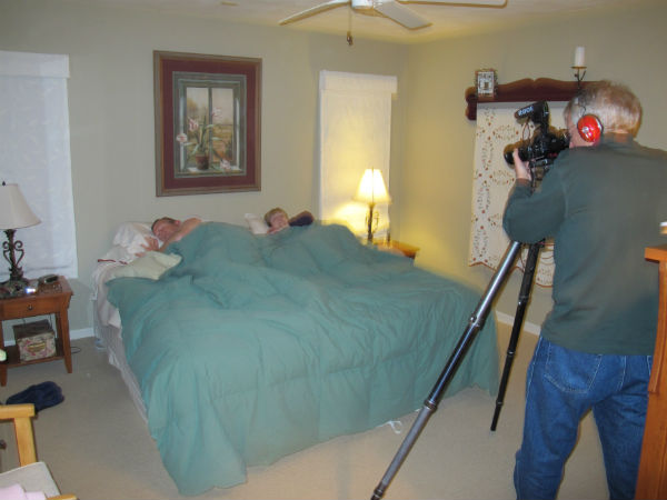 Our movie has a bedroom scene. Just not that kind.