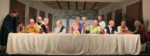 """The Last Supper"" at Fincastle United Methodist Church, 2014."