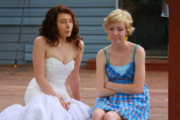 Glinda and Dorothy.