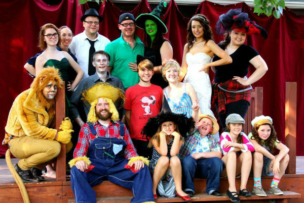 The cast of THE OTHER SIDE OF OZ.