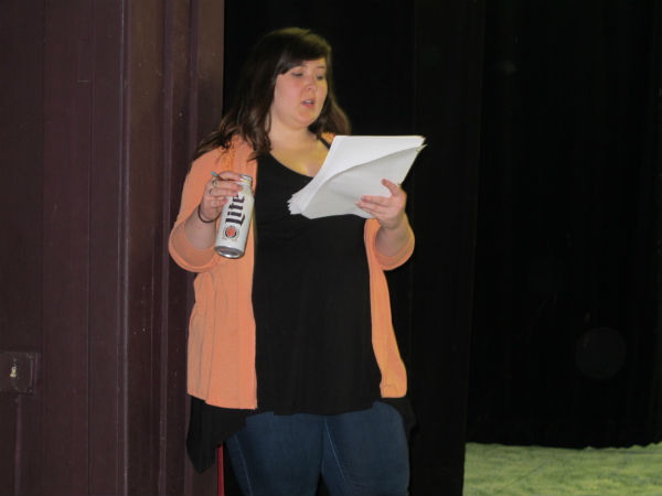 Debbie, the pageant consultant (Kelly Anglim) is under a lot of stress. So she drinks a lot.