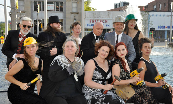 The cast for this year's festival.