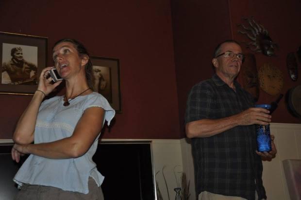 Deb Huggins and Brian (not sure last name).