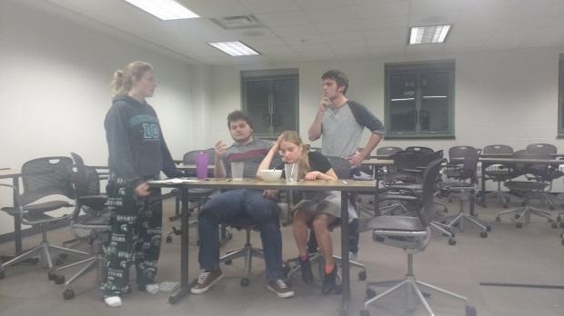 More awkward meetings.